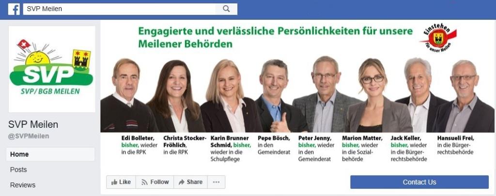 Facebook SVP Meilen