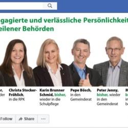 Link zum Facebook für die Wahlen 2018