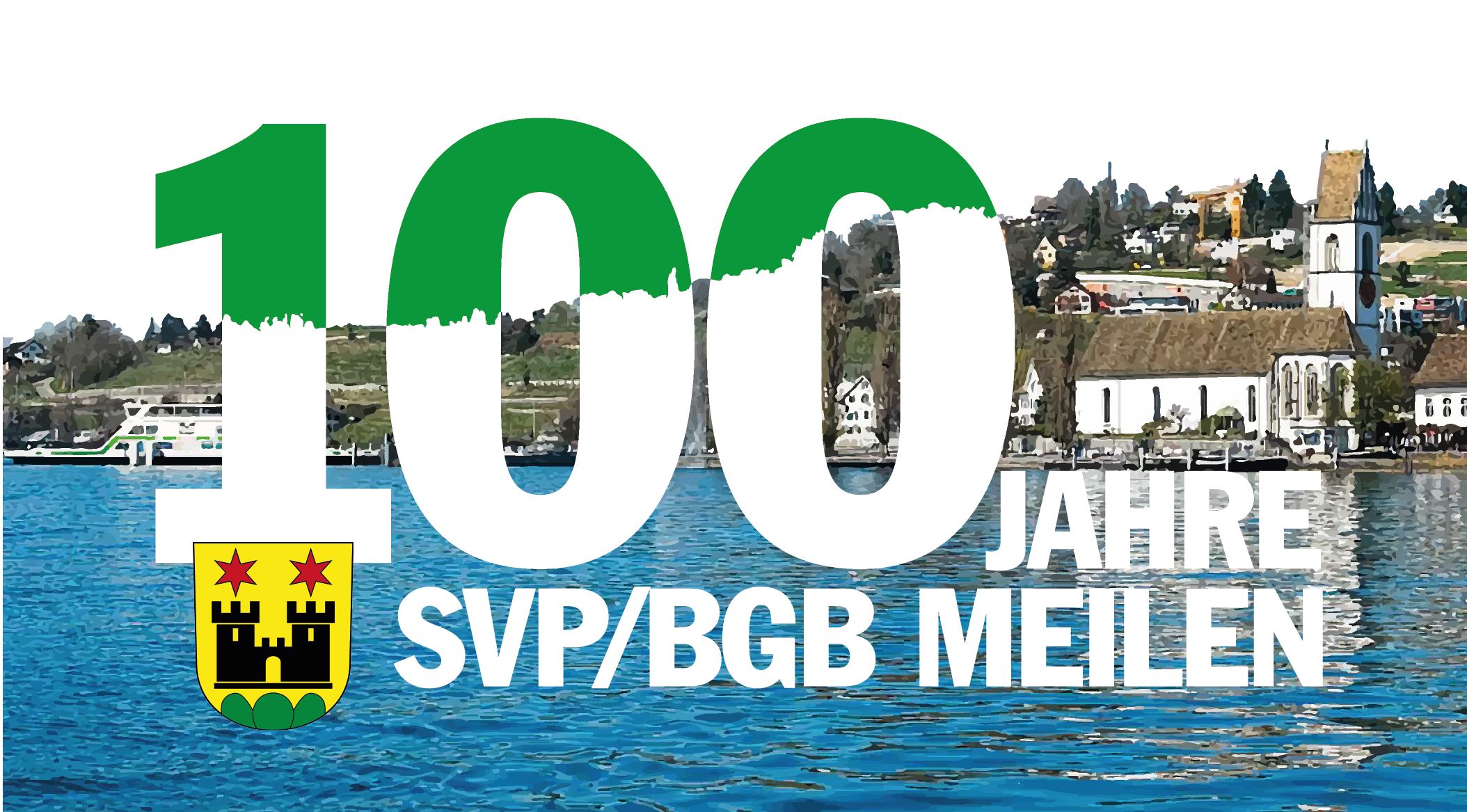 100 Jahre SVP / BGB Meilen