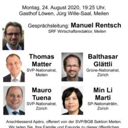 Super Abstimmungssonntag, Podiumsdiskussion 24.08.2020